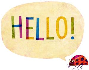 Ladybug+Saying+Hello!