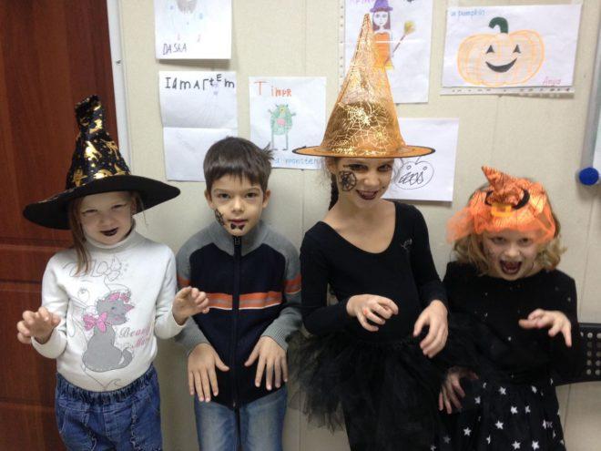 Halloween обучение английскому